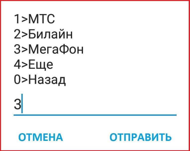 Шаг 4 Мегафон