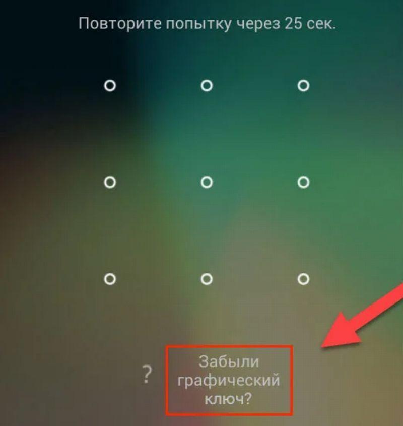 поле ввода графического ключа